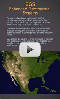 Cover image of Enhanced Geothermal Systems animation.